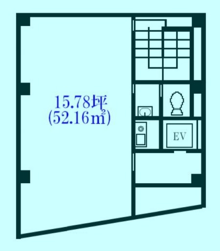 坂本ビル部屋の図面